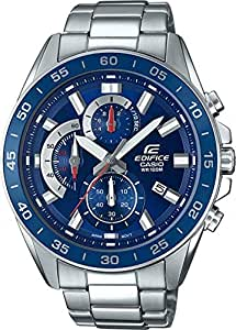 CASIO EFV-550D-2AV Reloj Casio Edifice Chronograph Acero Inoxidable 100 M.: Amazon.es: Relojes