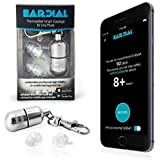 EarDial - Tapones de Oído Invisibles y Smart para Música - Confortable y Discreta Protección Auditiva Reusable de Alta Fidelidad con App. Perfecto para Concierto, Club, Festival, Músico, DJ, etc.