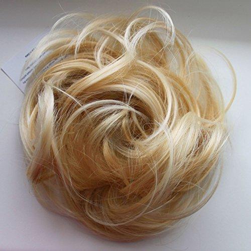 PRETTYSHOP Haargummi Haarteil Zopf Haarverdichtung Scrunchie Hochsteckfrisuren div. Farben G28B