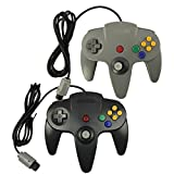 Pomilan 2 Packs Classic Retro Wired Controllers For Nintendo 64