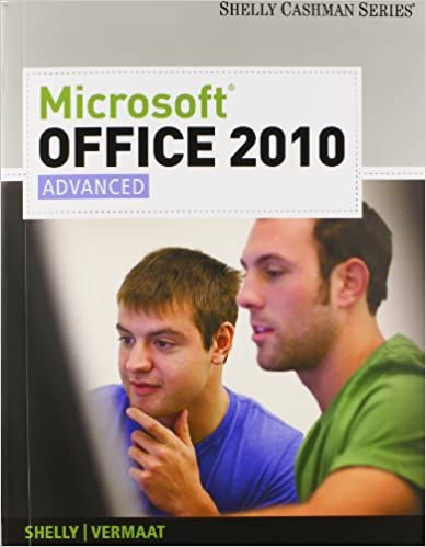 Bundle: Microsoft Office 2010: Advanced + SAM 2010 Assessment, Training, and Projects v2.0 Printed Access Card