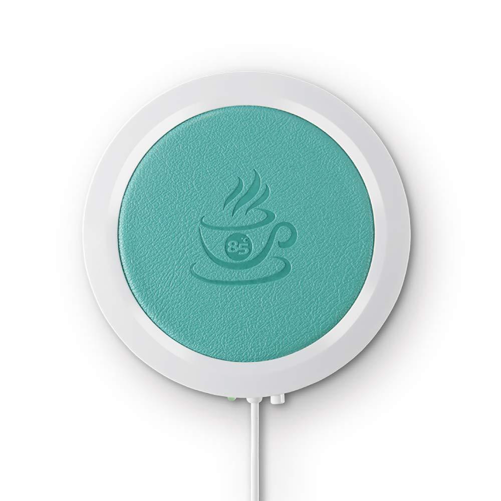 USB Cup wärmer, Konesky Elektro-KaffeeBecher wärmere Matte Kaffee-Tee-Getränk Heizung Coaster USB-Cup-Heizung für den Einsatz nach Hause (orange)