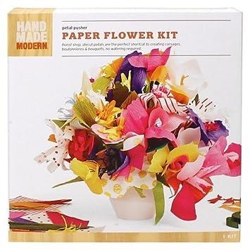 Amazon Hand Made Modern Paper Flower Kit