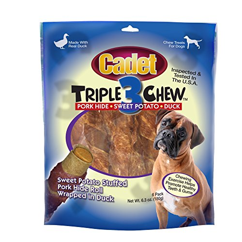 - Cadet Triple Chew Duck Dog Treats
