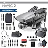 DJI Mavic 2 Pro (CP.MA.00000019.01) Fly More Combo, 3 Total Batteries, Car Charger, Carrying Bag, Charging Hub, 64GB Card, Propeller Guard, Extended Warranty More - Fly More Combo