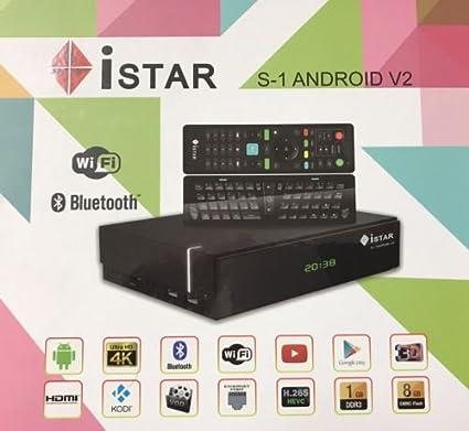 Amazon com: Istar Korea S1 V2 Android 4K 1 Year Free Online Tv 3500