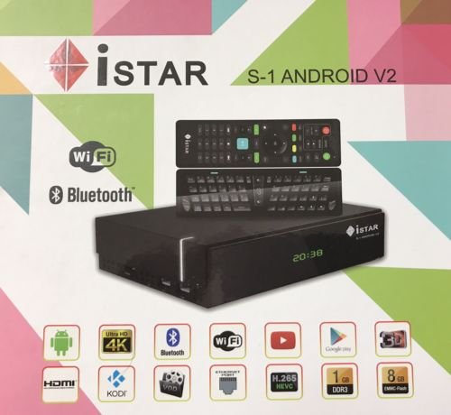 Istar Korea S1 V2 Android 4K 1 Year Free Online Tv 3500 Channels Full Gold  Package