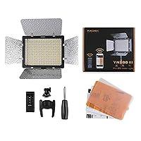 YONGNUO YN300 III YN-300 III LED Cámara de luz LED con temperatura de color ajustable 3200K-5500K para Canon Nikon Pentax Olympas Samsung