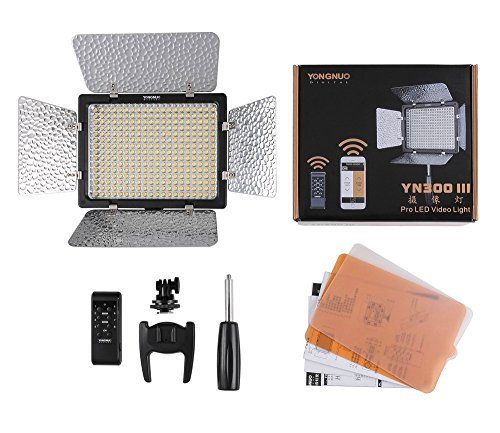 YONGNUO YN300 III YN-300 III LED Camera Video Light with Adj