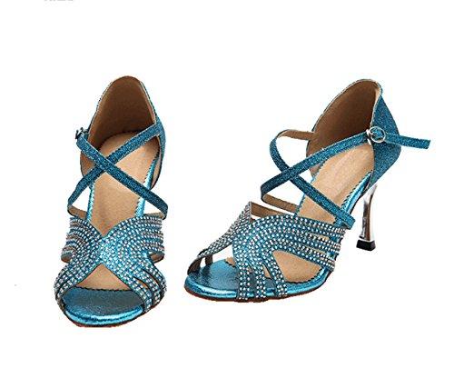 bal 5cm Blue de 8 Salle femme Miyoopark Heel EwZYqW