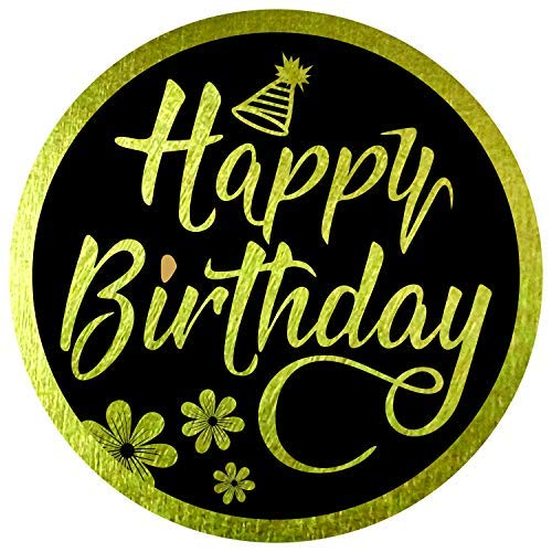 Happy Birthday Stickers Seals Labels (Pack of 120) 2