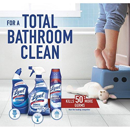 Lysol Power & Fresh Toilet Bowl Cleaner, Ocean Fresh, 96oz (4X24oz) - 6