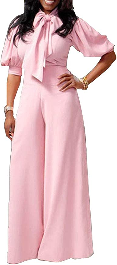 Fseason-Women Fit Long Pants Premium Fashional High Waisted Jumpsuits