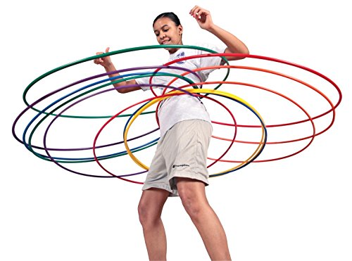 Pull-Buoy Skinny No-Kink Hoops, 30 Inches, Set of -