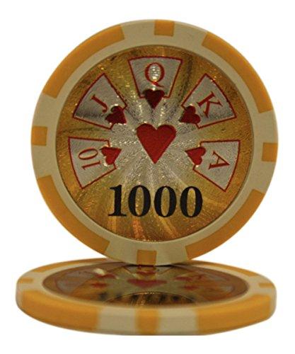 50 $ 1000 Chips High Roller CasinoクレイComposite High 14 1000 Gram Poker Chips B00XOF5BUM, いまどき本舗:96382ade --- itxassou.fr