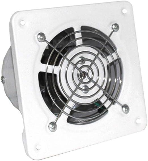JIN GUI Ventilador de extracción, Ventilador de Ventana montado en ...