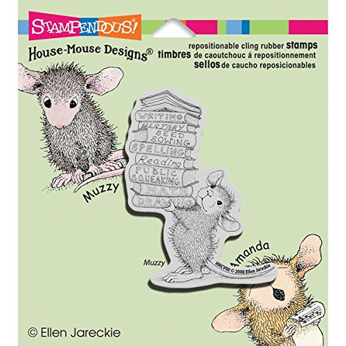 STAMPENDOUS Cling Rubber Stamp, Stack of -