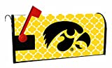 Iowa Hawkeyes Moroccan Pattern Magnetic Mailbox Cover