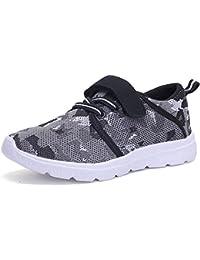 Kids Ligero Transpirable Zapatillas fácil Walk Casual Deporte Zapatos para niños niñas