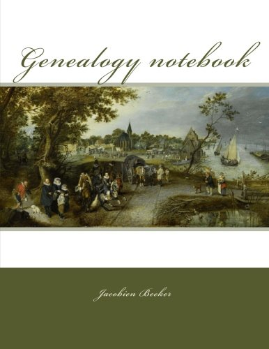 Genealogy notebook: 127 ancestor data sheets, name index, genealogical table for 7 generations, research log, to-do list, and plenty of room for notes.