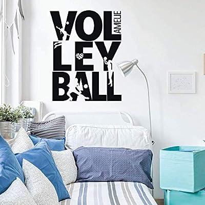 TYLPK Summer beach volleyball tatuajes de pared logo de voleibol ...