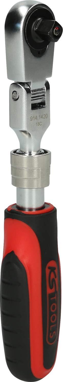 KS Tools 914.1420 Teleskop-Gelenk-Umschaltknarre