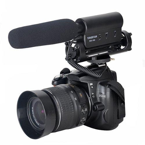 SGC-598 Photography Interview Shotgun MIC Microphone for Nikon Canon DSLR Camera (Need 3.5mm Interface)