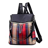 APHISON Womens Backpack Purse Oxford Cloth Waterproof Design Multi-function Travel Bags Fashion Shoulder Bag