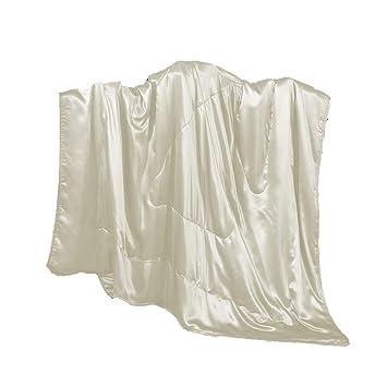 Amazon.com: cozysilk, manta de niños de seda/portátil de ...