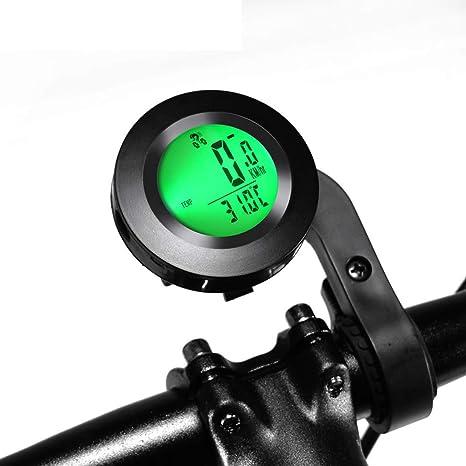 ZQQ Ordenador para Bicicleta, Velocímetro Inalámbrico para ...