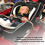 Shopping Cart Hammock for Baby 0-6