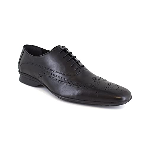 Richelieu J.Bradford Cuero Negro - Color - Negro, Talla Zapatos - 46
