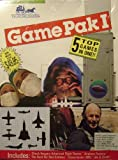 Game Pak I 5 Top Games In One!! (Chuck Yeagers Advanced Flight Trainer, Airplane Factory, The Hunt For Red October, Chessmaster 2000, Life & Death)