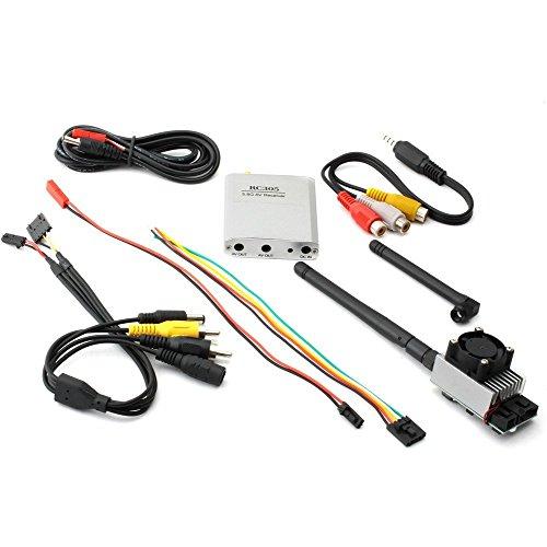 TSL 5.8G 1000mw 8CH TX51W Transmitter Kit +5.8G Wireless FPV RX RC305 Receiver