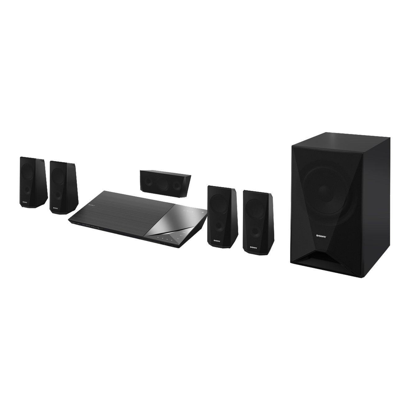 Sony Bdv N5200w 51 Channel Home Cinema System With Making Theater Surround Amplifier Electronics