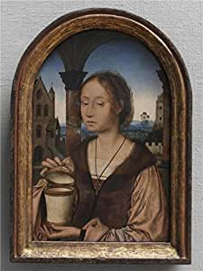 'Quinten Massijs,Saint Mary Magdalen,1466-1529' oil painting, 12x16 inch / 30x41 cm ,printed on Perfect effect Canvas ,this Cheap but High quality Art Decorative Art Decorative Canvas Prints is perfectly suitalbe for Bathroom artwork and Home artwork and Gifts