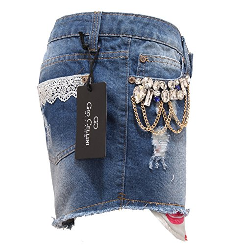 Donna Corto Blu 4939s Cellini Gio Denim Pantalone Short Woman Fwgqg1fW8