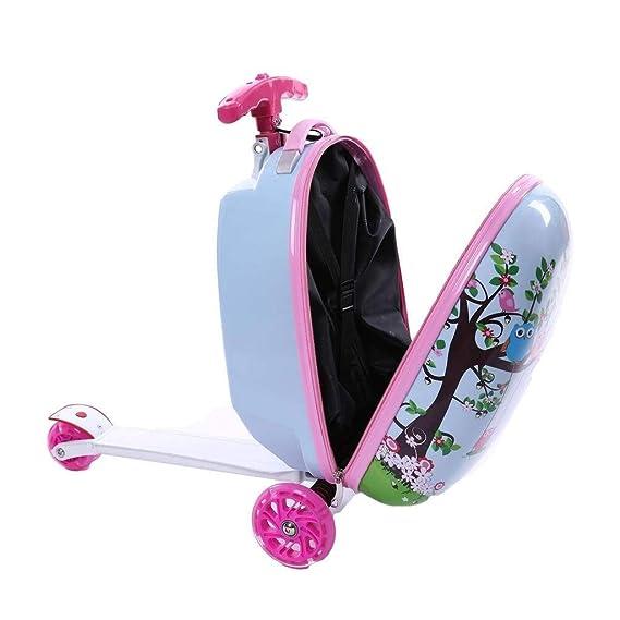 Amazon.com: C-Xka - Maleta infantil para scooter de 16.0 in ...