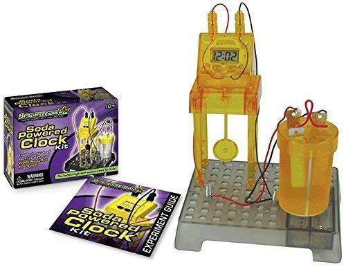 Jr. Science Explorer Soda-Powered Clock - Car Mentos