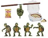 NECA Tmnt (1990 Movie) 1/4 Scale Action Figures-Baby Turtles Set