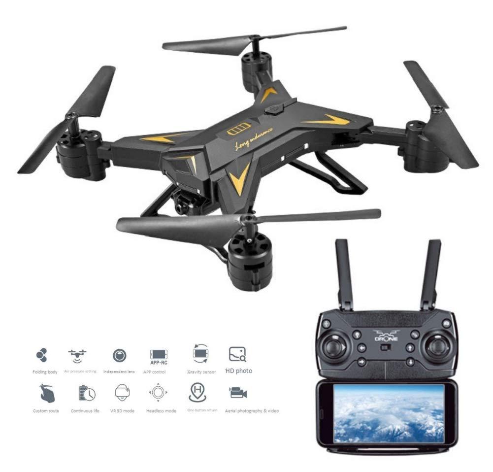 RCDNE Drone con cámara WiFi FPV con 5MP110 ° Cámara HD de Gran ...