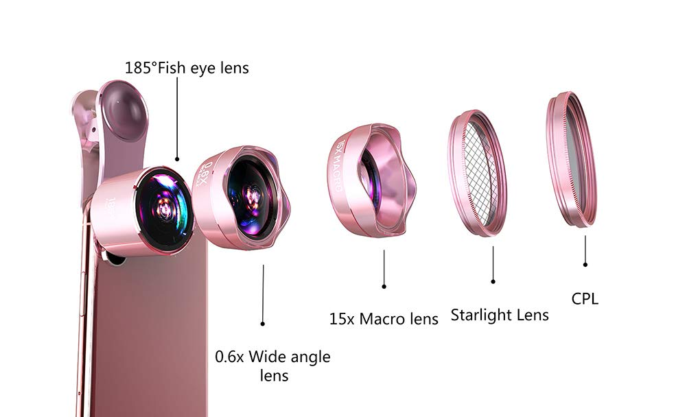 携帯電話カメラレンズキット、4K Undistorted Undistorted B07GGCFMSX HD携帯電話カメラレンズ、5-in-1多機能レンズキット。 B07GGCFMSX, indigo:1499fa6b --- ijpba.info