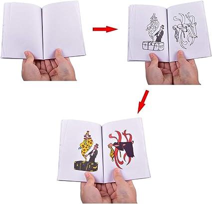 Amazon Com Doowops A Fun Magic Coloring Book Magic Book Tricks Best For Children Magic Stage Gimmick Illusion Mentalism Funny Kids Toys Medium Toys Games
