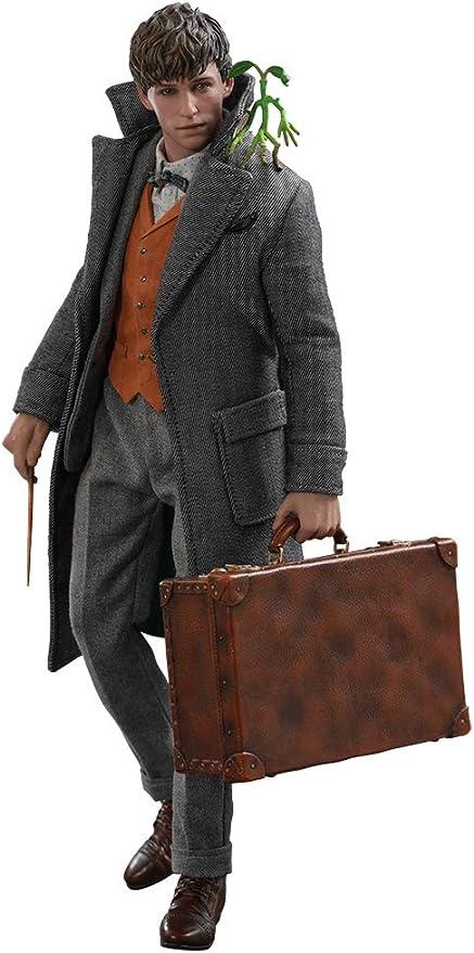 Figura Newt Scamander 30 cm. Animales fantásticos y dónde encontrarlos 2. Movie Masterpiece. Escala 1:6. Hot Toys: Amazon.es: Deportes y aire libre