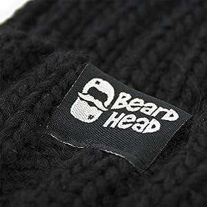 185a46c672c Beard Head Barbarian Roadie Beard Beanie - Funny Knit Hat w Fake ...