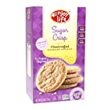 Enjoy Life Crunchy Handcrafted Cookies, Sugar Crisp 6.3 oz(Pack of 6)