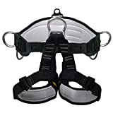 Safety Climbing Harness Belt Tree Working Belts Rock For Garden Art Clip Tree Clip