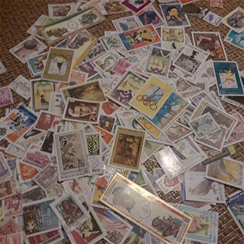 Stamps|Postage Stamp from All Over The World with Post Mark Brand Stamps Postal All Used for Collection|by ATUSY