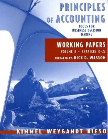 Principles of Accounting, with Annual Report, Working Papers, Vol. II