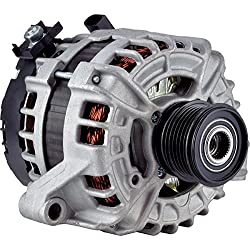 New DB Electrical 400-24260 Alternator for 2.5L 1 Clock 180 Amp Internal Fan Type Clutch Pulley Type Internal Regulator CW Rotation 12V Volvo S60 CROSS COUNTRY 2016 125811005 125811020 11164